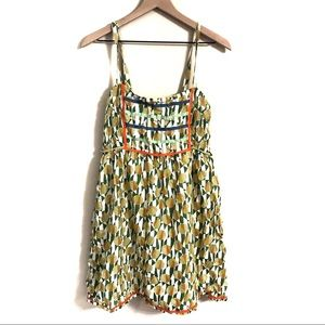 Free People | Geometric Sun Dress Size 8